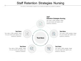 Staff Retention Strategies Nursing Ppt Powerpoint Presentation Graphics Cpb