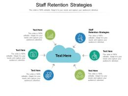 Staff Retention Strategies Ppt Powerpoint Presentation Model Example Cpb