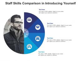 Staff Skills Comparison In Introducing Yourself Infographic Template