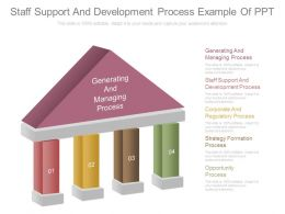 Staff Support And Development Process Example Of Ppt