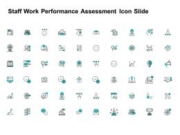 Staff Work Performance Assessment Icon Slide Winner L174 Ppt Powerpoint Presentation