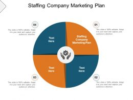 Staffing Company Marketing Plan Ppt Powerpoint Presentation Pictures Example Cpb