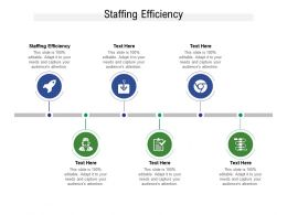 Staffing Efficiency Ppt Powerpoint Presentation Summary Skills Cpb
