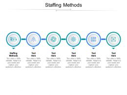 Staffing Methods Ppt Powerpoint Presentation Styles Diagrams Cpb