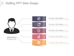 Staffing Ppt Slide Design