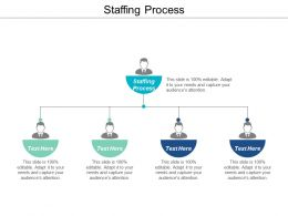 Staffing Process Ppt Powerpoint Presentation Summary Graphics Tutorials Cpb