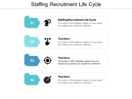 Staffing Recruitment Life Cycle Ppt Powerpoint Presentation Inspiration Show Cpb