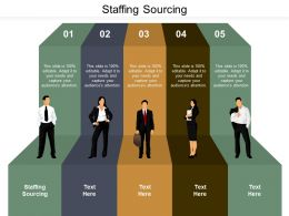 Staffing Sourcing Ppt Powerpoint Presentation Ideas Clipart Images Cpb