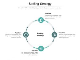 Staffing Strategy Ppt Powerpoint Presentation Icon Vector Cpb