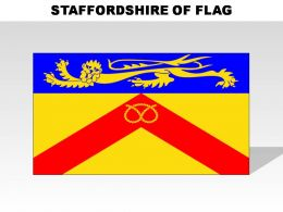 Staffordshire Country Powerpoint Flags