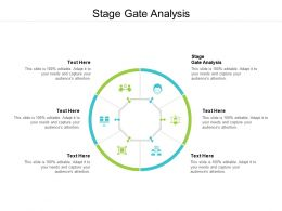 Stage Gate Analysis Ppt Powerpoint Presentation Layouts Smartart Cpb