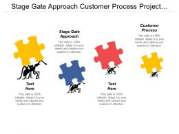 Stage Gate Approach Customer Process Project Management Stage Cpb