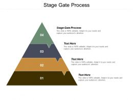Stage Gate Process Ppt Powerpoint Presentation Icon Graphics Pictures Cpb