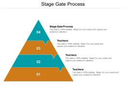 Stage Gate Process Ppt Powerpoint Presentation Pictures Templates Cpb
