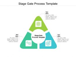 Stage Gate Process Template Ppt Powerpoint Presentation Infographic Template Slide Cpb