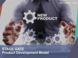 Stage Gate Product Development Model Powerpoint Presentation Slides