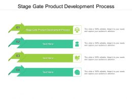 Stage Gate Product Development Process Ppt Powerpoint Presentation File Example File Cpb