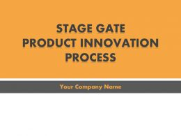 Stage Gate Product Innovation Process PowerPoint Presentation With Slides