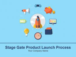Stage Gate Product Launch Process Powerpoint Presentation Slides