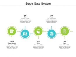 Stage Gate System Ppt Powerpoint Presentation Pictures Tips Cpb
