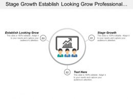 Stage Growth Establish Looking Grow Professional Development Series