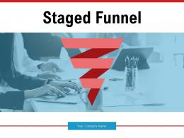 Staged Funnel Development Process Financial Planning Innovation Evaluation
