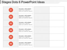 Stages Dots 6 Powerpoint Ideas
