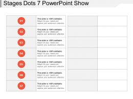 Stages Dots 7 Powerpoint Show