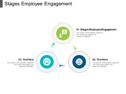 Stages Employee Engagement Ppt Powerpoint Presentation Inspiration Graphics Cpb