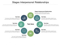 Stages Interpersonal Relationships Ppt Powerpoint Presentation Professional Infographics Cpb