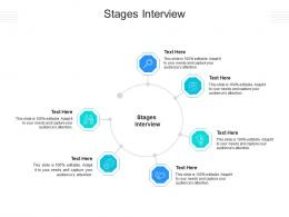Stages Interview Ppt Powerpoint Presentation Inspiration Ideas Cpb