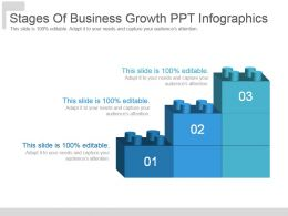 Stages Of Business Growth Ppt Infographics