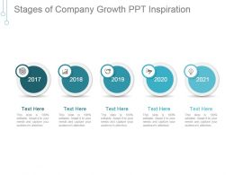 Stages Of Company Growth Ppt Inspiration