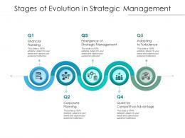 Stages Of Evolution In Strategic Management