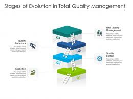 Stages Of Evolution In Total Quality Management