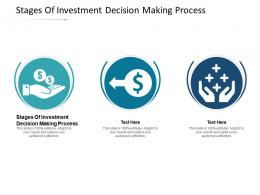 Stages Of Investment Decision Making Process Ppt Powerpoint Presentation Portfolio Cpb