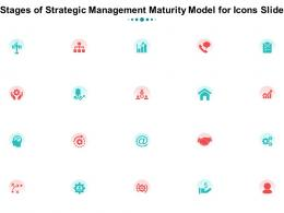 Stages Of Strategic Management Maturity Model For Icons Slide Ppt Styles Demonstration