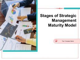 Stages Of Strategic Management Maturity Model Powerpoint Presentation Slides