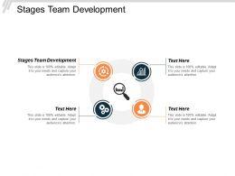 Stages Team Development Ppt Powerpoint Presentation Model Microsoft Cpb