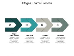 Stages Teams Process Ppt Powerpoint Presentation Pictures Files Cpb