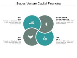 Stages Venture Capital Financing Ppt Powerpoint Presentation Sample Cpb