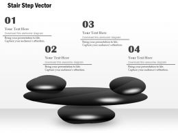 Stair Step Vector Infographics Powerpoint Template