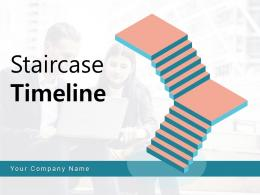 Staircase Timeline Business Continuity Planning Analysis Financial Through Marketing