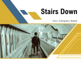 Stairs Down Platform Commuters Movement Prohibition Audience Individual