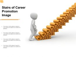 Stairs Of Career Promotion Image