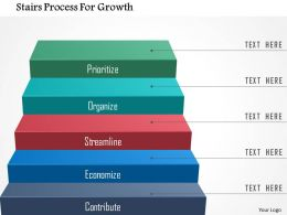 Stairs Process For Growth Powerpoint Templates