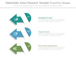 Stakeholder Action Research Template Powerpoint Shapes