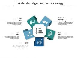 Stakeholder Alignment Work Strategy Ppt Powerpoint Presentation Ideas Deck Cpb
