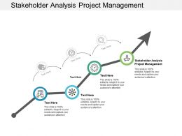 Stakeholder Analysis Project Management Ppt Powerpoint Presentation Infographic Template Deck Cpb
