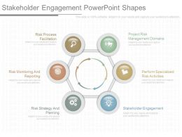 Stakeholder Engagement Powerpoint Shapes